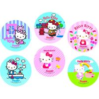 Disco Decorativo Hello Kitty Rich's 12 Unidades - Cod. 7898904718755