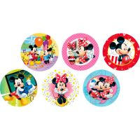 Disco Decorativo Mickey e Minnie Rich's 12 Unidades - Cod. 7898610600658