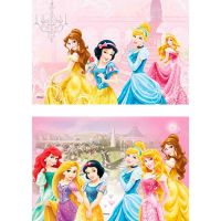 Disco Decorativo Retangular Princesas Rich's 12 Unidades - Cod. 7898950235350
