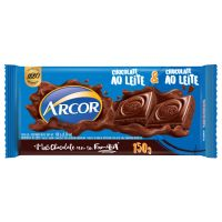 Display de Tablete de Chocolate Arcor ao Leite 150g (12 un/cada) - Cod. 7898142864511