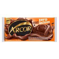 Display de Tablete de Chocolate Arcor ao Leite Zero Lactose 80g (12 un/cada) - Cod. 7898142864689