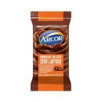 Display de Tablete de Chocolate Arcor ao Leite Zero Lactose 20g (24 un/cada) - Cod. 7898142864733
