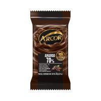 Display de Tablete de Chocolate Arcor Amargo 70% 20g (24 un/cada) - Cod. 7898142864757