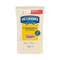 Maionese Hellmann's Tradicional Sachê 1kg | Caixa com 12 unidades - Cod. 7891150029006