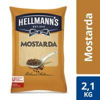 Mostarda Hellmanns Bag 2,1kg - Cod. 7891150023949