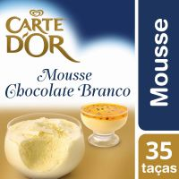 Mousse de Chocolate Branco Carte D'Or 400g - Cod. 7891150054981