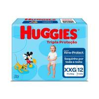 Fralda Huggies Tripla Proteção XXG 12un - Cod. 7896007550234