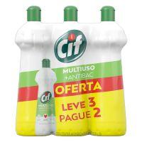 Pack Limpador Cif Multiuso +Antibac Squeeze Leve 3 Pague 2 500ml Cada - Cod. 7891150073739