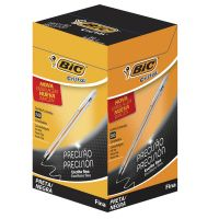 Caneta Esferográfica BIC Cristal Precisão Preta c/50 un. - Cod. 070330183582