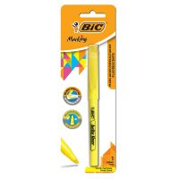 Marcador de Texto Fluorescente BIC Marking com 1 Amarelo - Cod. 070330302808