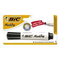 Marcador de Quadro Branco Recarregável BIC - com 1 Preto - Cod. 070330348134
