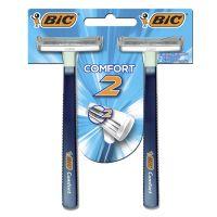 Aparelho de Barbear BIC Comfort 2 Pele Normal com 2 unidades - Cod. 070330712379C12