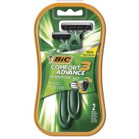 Barbeador BIC Comfort 3 Pele Sensível c/ 2 unidades - Cod. 070330717527C12