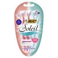 Aparelho de Depilar BIC Soleil Sensitive com 4 unidades - Cod. 070330736719