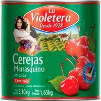 Cereja em Calda La Violetera com Talo 1,65Kg - Cod. 7891089064235
