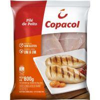 Filé de Peito de Frango Copacol em Metades 800g - Cod. 7891527962314