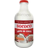 Leite de Coco Sococo Garrafa 200ml - Cod. 7896004400075