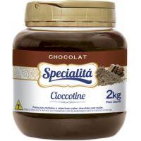 Pasta para Recheio Specialitá Chocolat Cioccotine Sabor Chocolate com Malte 2,02Kg - Cod. 7896411810085