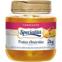 Pasta para Recheio Specialitá Variegato Frutas Amarelas 2Kg - Cod. 7896411810184