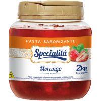 Pasta Saborizante Specialitá Morango 2Kg - Cod. 7296411810571