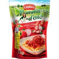 Molho de Tomate Mamma D'Oro Tradicional Bag 2Kg - Cod. 7896025803145