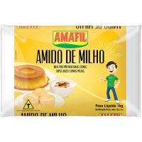 Amido de Milho Amafil 1Kg - Cod. 7896035950372