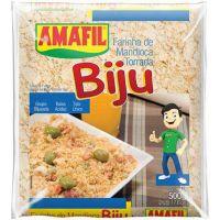 Farinha de Mandioca Amafil Biju 500g - Cod. 7896035911311
