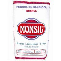 Farinha de Mandioca Monsil Crua Papel 1Kg - Cod. 7896035911151