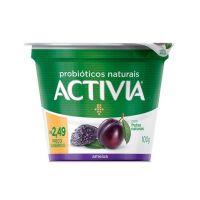 Leite Fermentado Activia Polpa Ameixa 100G - Cod. 7891025114581