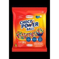 Confeito de Chocolate Choco Power Ball Micro Colorido 300g - Cod. 7896072641684