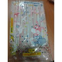 Canudo Strawplast para Milk Shake Embalado 21cm   Pacote com 200 Unidades - Cod. 7897960700186