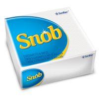Guardanapo Snob Folha Simples 24X22Cm | Caixa com 80 Unidades - Cod. 7896110081250C80