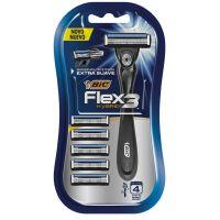 Aparelho de Barbear BIC Flex 3 Hybrid + 5 cargas - Cod. 3086123549999