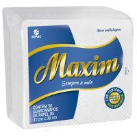 Guardanapo Maxim 31X30cm | Com 50 Unidades | Caixa com 48 Unidades - Cod. 7896026850087C48