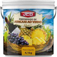 Preparado de Frutas Jeb Abacaxi ao Vinho 4,1Kg - Cod. 7898627840382