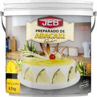 Preparado de Frutas Jeb Abacaxi com Consistência Firme 4,1Kg - Cod. 7898627840214