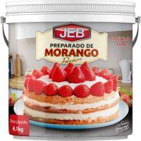 Preparado de Frutas Jeb Morango com Consistência Firme 4,1Kg - Cod. 7898627840207