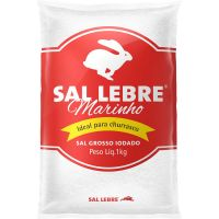 Sal Grosso Lebre 1Kg - Cod. 7896110100814