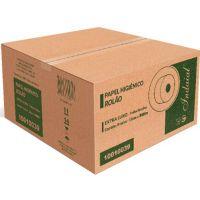 Papel Higiênico Indaial Extra Luxo Folha Dupla Rolão 250mtX10cm | Com 8 Unidades - Cod. 7899853800751