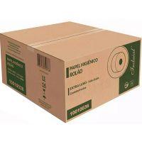 Papel Higiênico Indaial Extra Luxo Folha Simples Rolão 300mtX10cm | Com 8 Unidades - Cod. 7899853800317