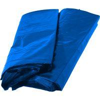 Saco para Lixo Ideal Azul 100L 75X85cm | Com 100 Unidades - Cod. 7896079695369