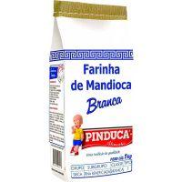 Farinha de Mandioca Pinduca Crua Papel 1Kg - Cod. 7896015910013