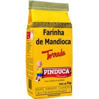 Farinha de Mandioca Pinduca Torrada Papel 1Kg - Cod. 7896015910006