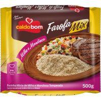 Farofa Caldo Bom Mix de Milho e Mandioca 500g - Cod. 7896273905301