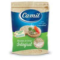 Biscoito de Arroz Integral Camil 150 g - Cod. 7896006779674