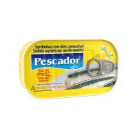Sardinha Pescador Óleo Próprio Suco 125g - Cod. 7896114901738