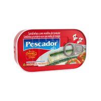 Sardinha Pescador com Molho de Tomate 125g - Cod. 7896114900045