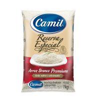 Arroz Camil Branco Premium Reserva Especial Tipo 1 1kg - Cod. 7896006762003
