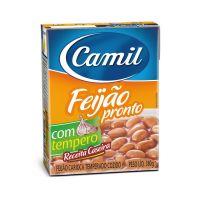 Feijão Carioca Pronto Camil 380 g - Cod. 7896006797920