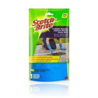 Luva Limpeza Pesada Scotch-Brite Pequena - 1 par - Cod. 21200510076